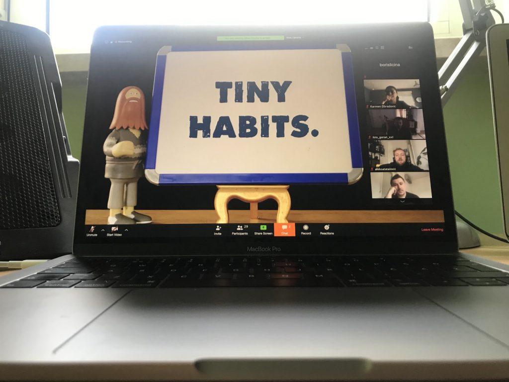 Edukacijom protiv Korone: Tiny Habits, Mike Coulter