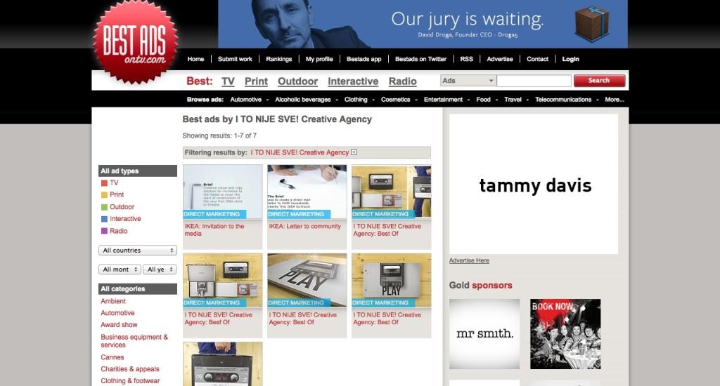 I TO NIJE SVE! agency's works on Bestdsontv.com